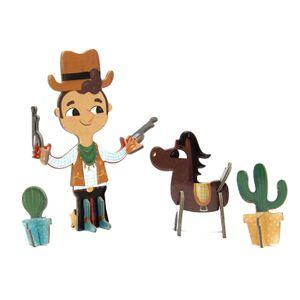 Personagens-3D-Cowboy