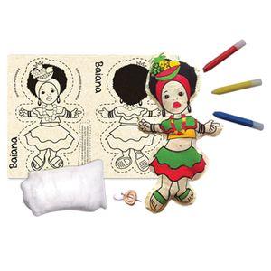 Boneca-de-Pano-para-Costurar-Baiana