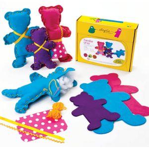 Boneca-de-Feltro-para-Costurar-Familia-Urso