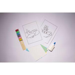 Desenhos-para-Colorir-com-Areia-Meio-de-Transportes