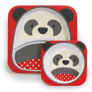 Set-de-Pratos-Zoo-Panda-Skip-Hop