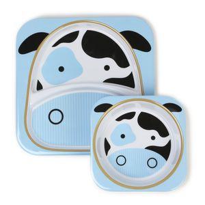 Set-de-Pratos-Zoo-Vaca-Skip-Hop