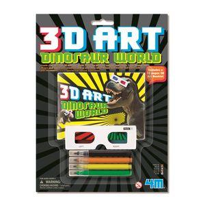 Desenhos-3D-Dino-Art-4M