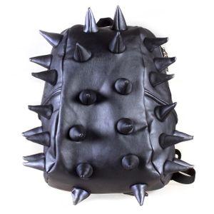mochila-spiketus-rex-azul-metalizada-espinhos-madpax