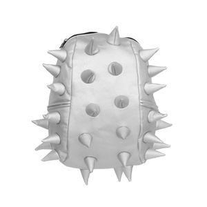 mochila-spiketus-rex-prateada-espinhos-madpax
