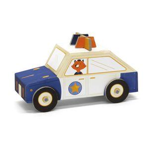Carrinho-de-Montar-Policia