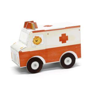 Carrinho-de-Montar-Ambulancia
