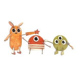 Personagens-3D-Monstros