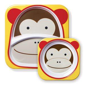 Set-de-Pratos-Zoo-Macaco-Skip-Hop