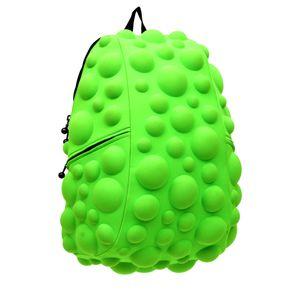 mochila-bubble-bolhas-grande-pink-verde-neon-madpax-mochila-3D