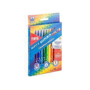 Canetinha-Mega-Hidro-Color-12-Cores-Tris