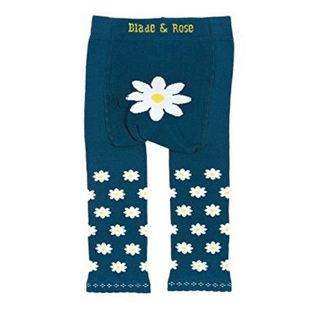 Meia-Calca-Legging-Margarida-Azul-0-6-meses-Blade-and-Rose