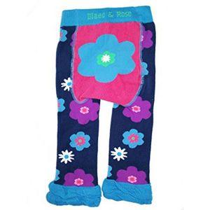 Meia-Calca-Legging-Flor-Azul-0-6-meses-Blade-and-Rose