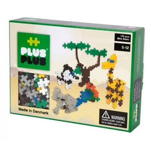 Brinquedo-de-Montar-Mini-Basic-170---Safari-PLUS-PLUS